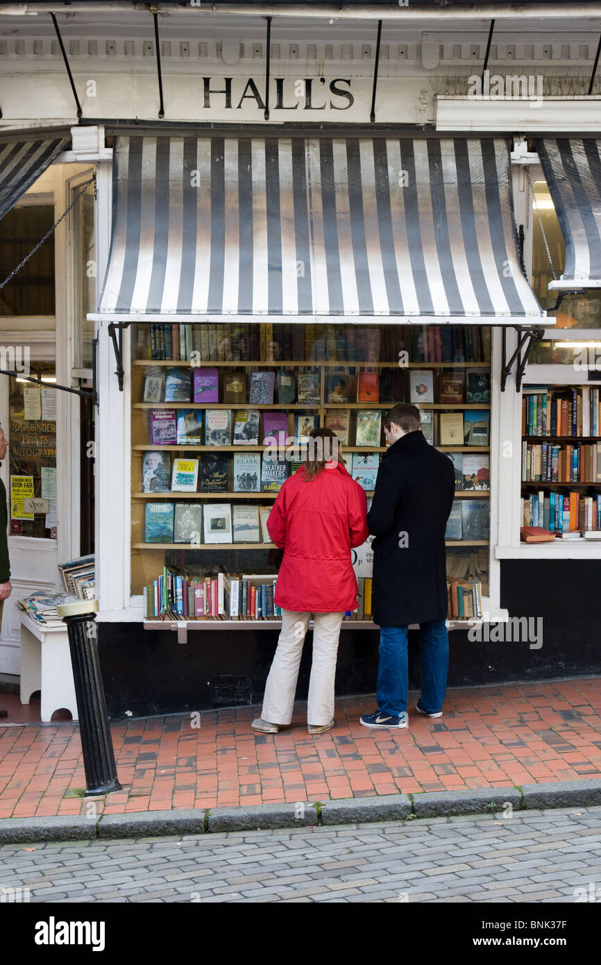 Hall's Secondhand Bookshop in Royal Tunbridge Wells - Stock Image