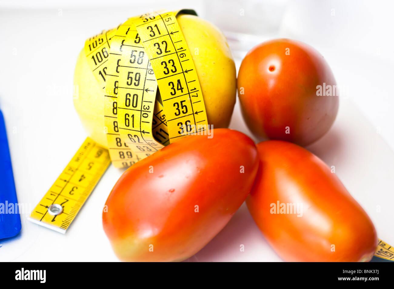 tomatoes diet - Stock Image