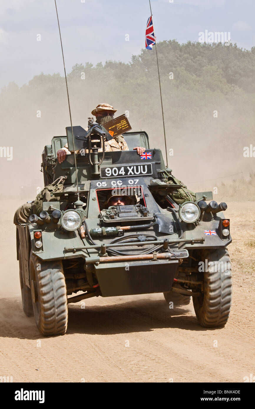 Army Scout Car - Stock Image