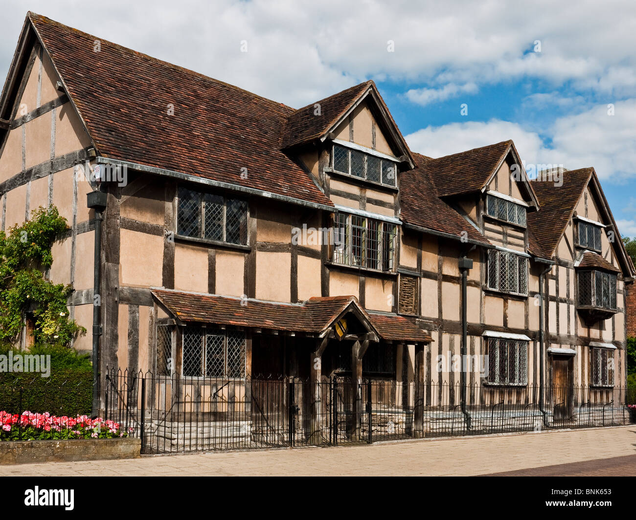 The House William Shakespeare Was Born In Henley Street Stratford Upon Avon