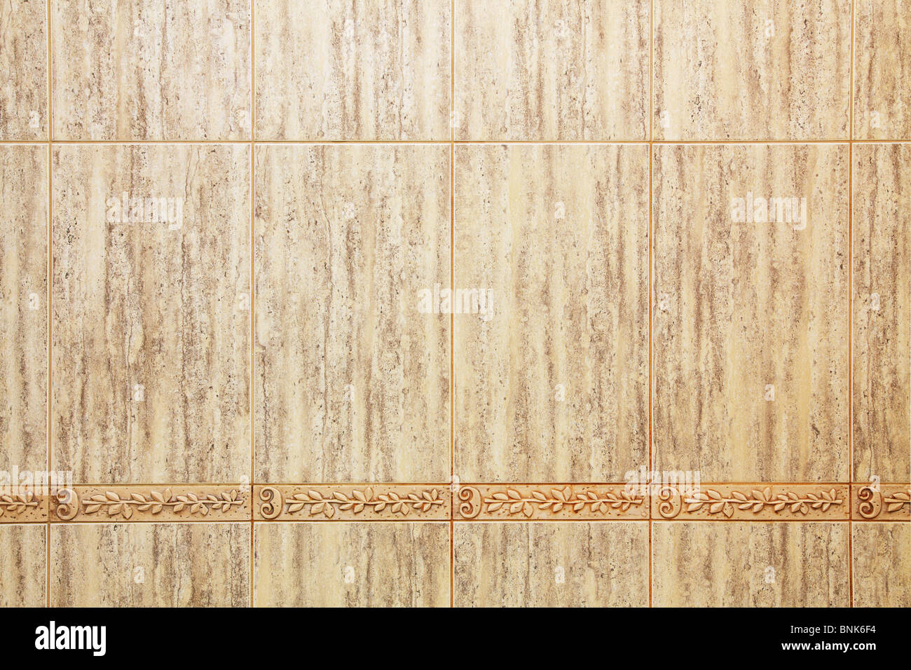 Ceramic tile - Stock Image