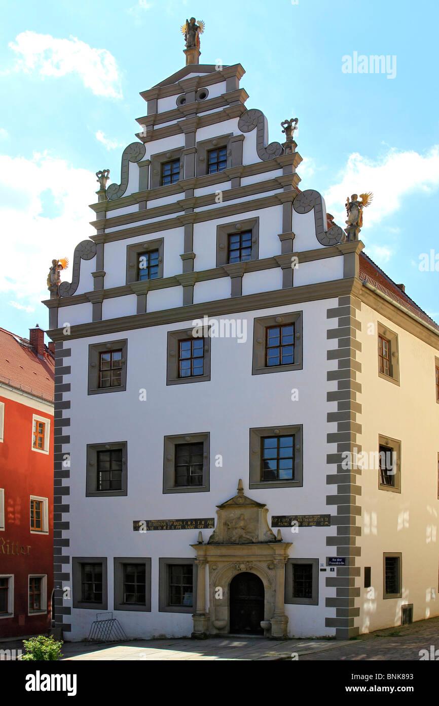 Meissen near Dresden, Saxony, Germany - Stock Image