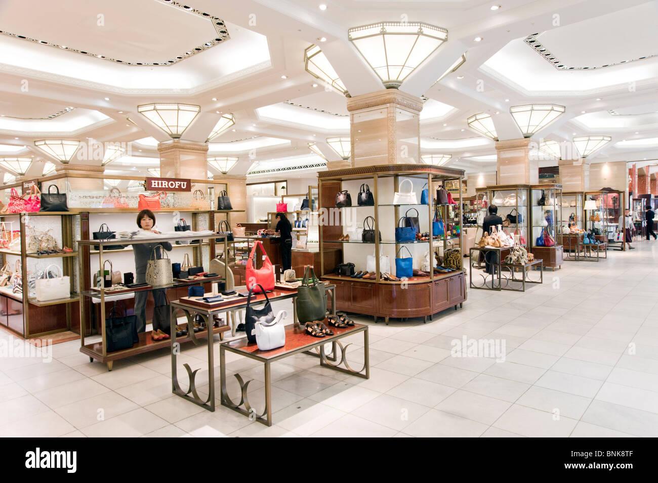 Mitsukoshi department store in Nihombashi, Tokyo, Japan - Stock Image
