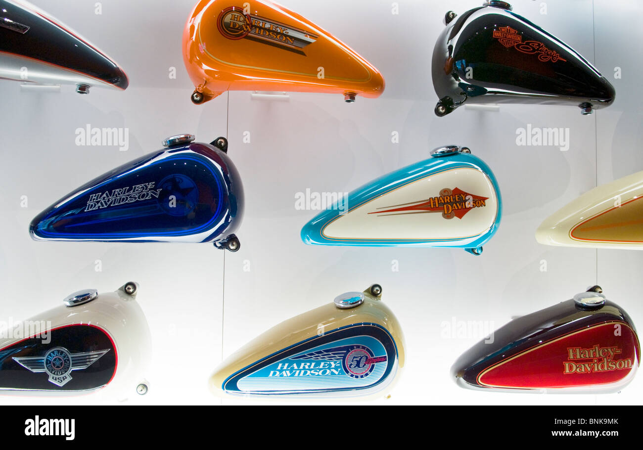 Motorcycle Gas Tank Stock Photos & Motorcycle Gas Tank Stock