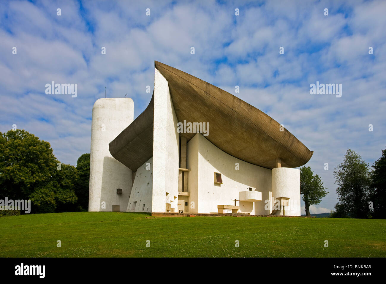 france ronchamp church notre lady you skin architecture le corbusier stock photo 30544139 alamy. Black Bedroom Furniture Sets. Home Design Ideas