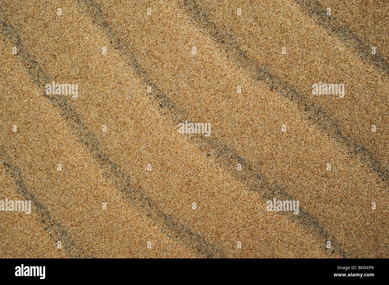 Sand patterns. - Stock Image