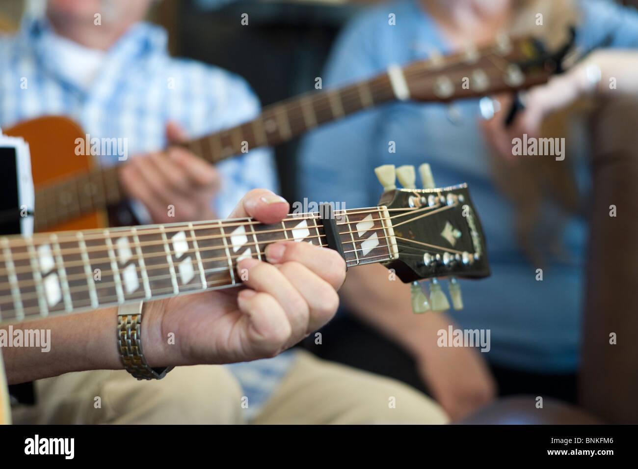 Guitar Chords Stock Photos Guitar Chords Stock Images Alamy