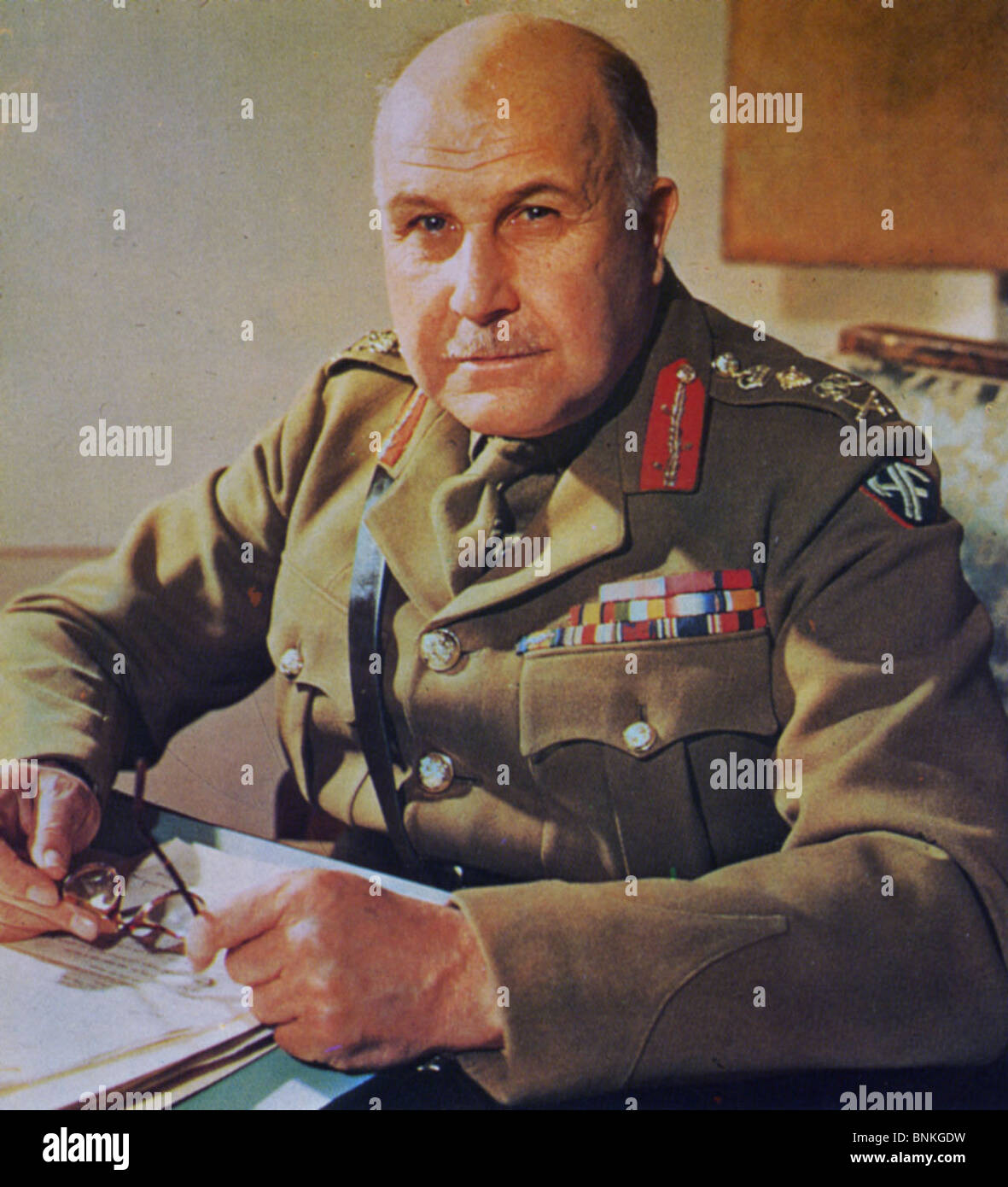 Henry Maitland Wilson 1881 1964 British Army General Stock Photo