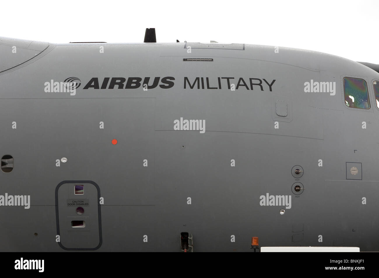 Airbus A400M military transporter aircraft, UK - Stock Image