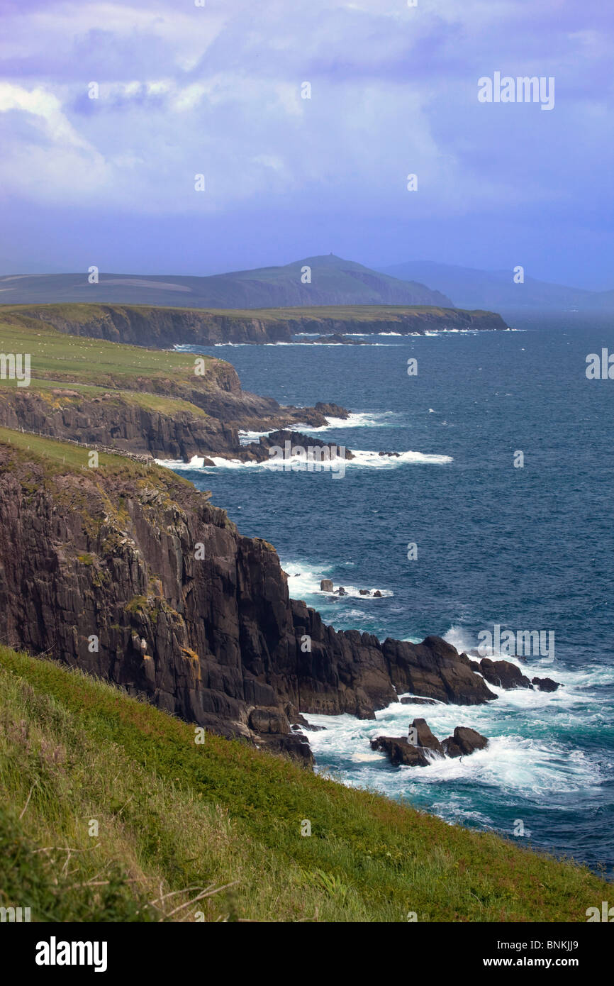 Slea Head; south Dingle Peninsula; Eire - Stock Image