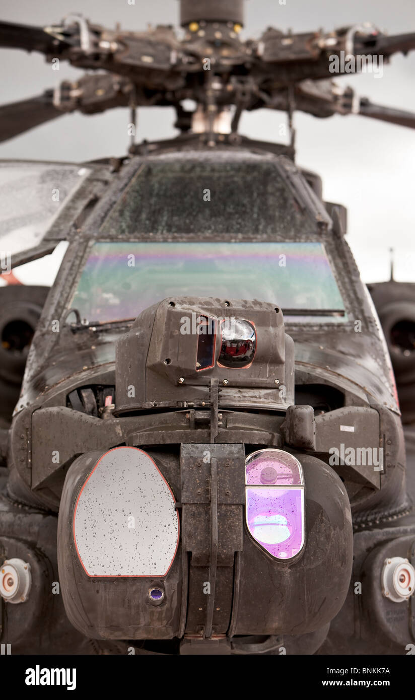 Apache helicopter - Stock Image