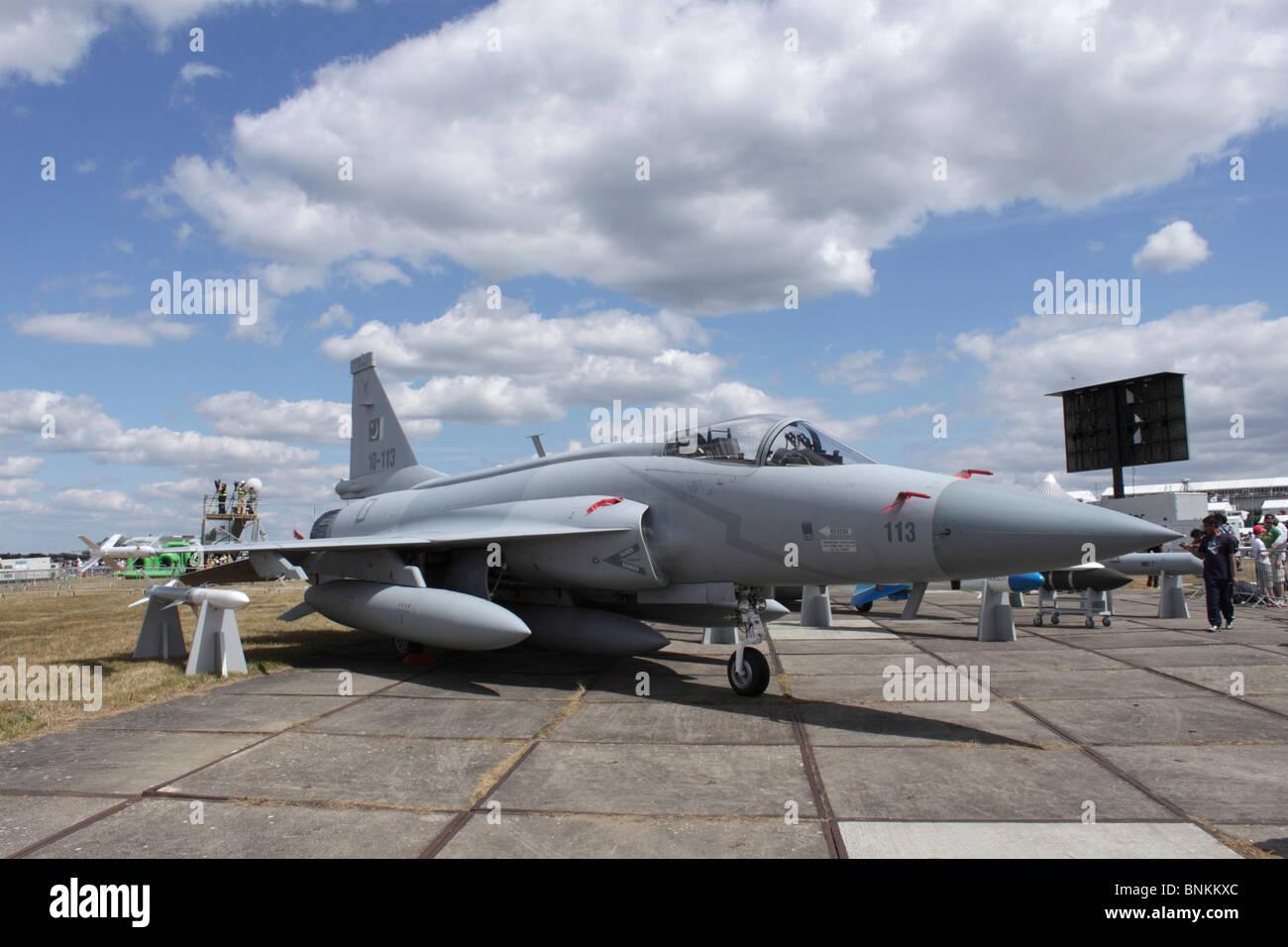 Jf 17 Thunder Fighter Jet Pakistan Stock Photos & Jf 17