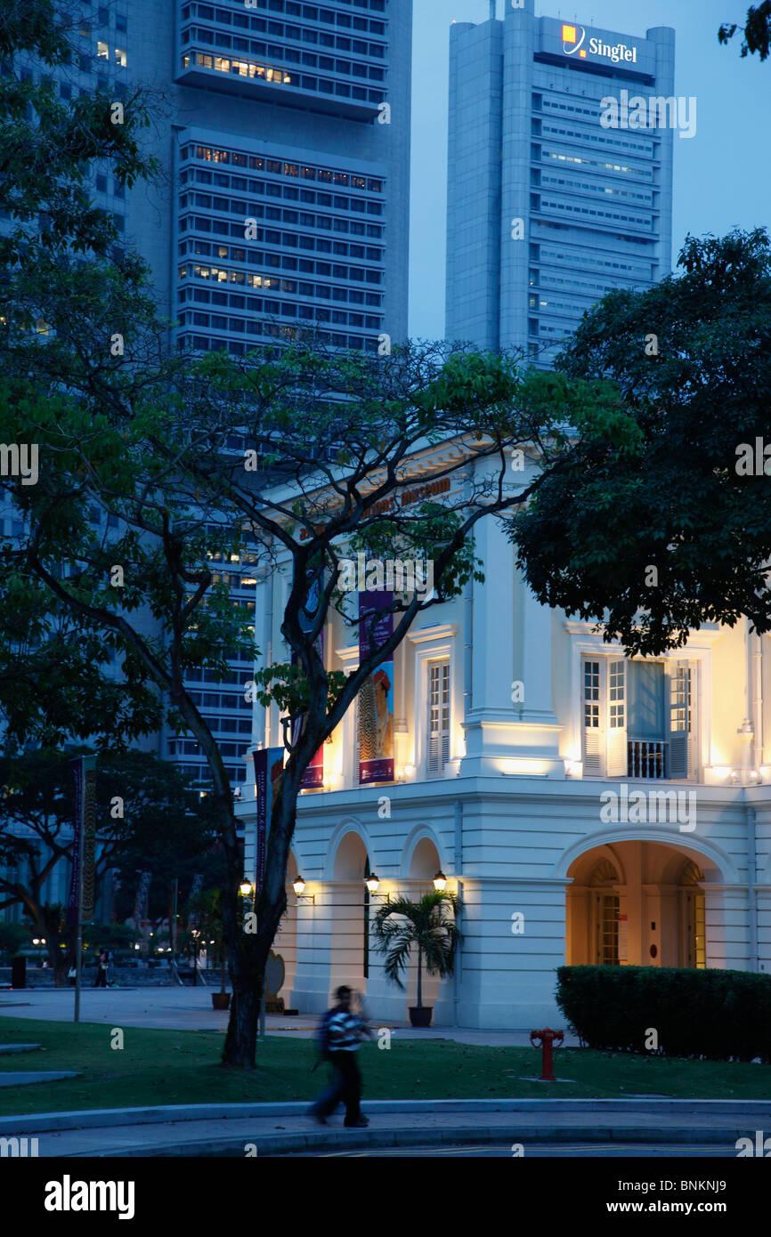 Singapore, Asian Civilisations Museum, Central Business District, - Stock Image