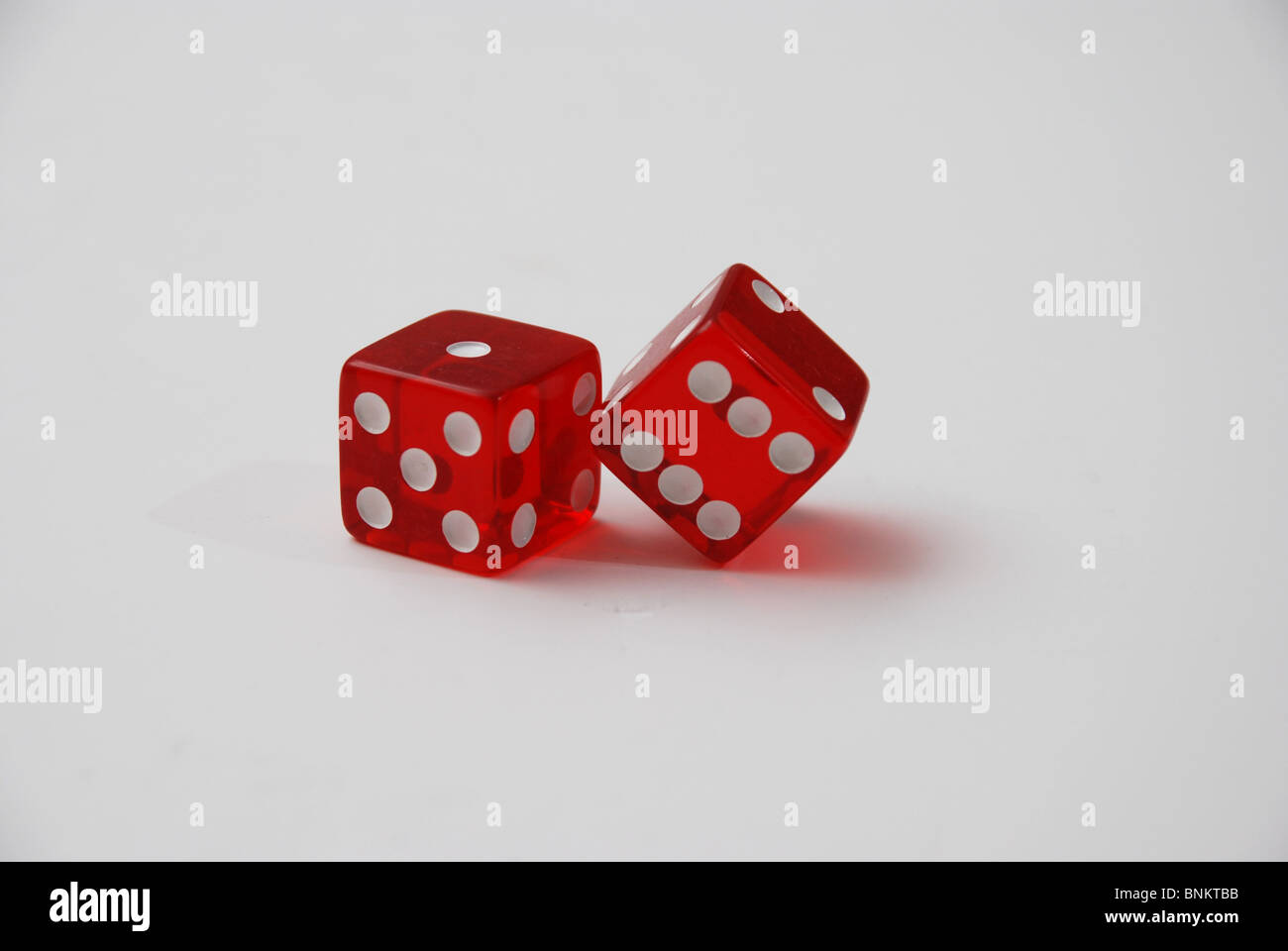 Number Eleven Dice - Stock Image