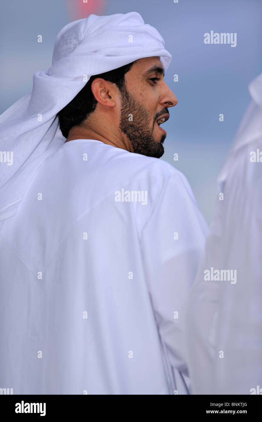 Traditional Arab Dress. Stock Photo