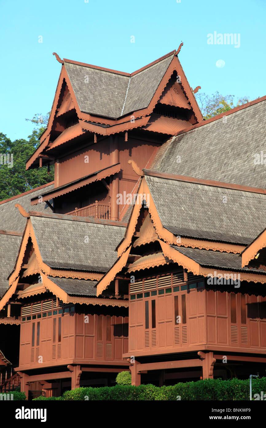 Malaysia, Melaka, Malacca, Sultanate Palace, - Stock Image