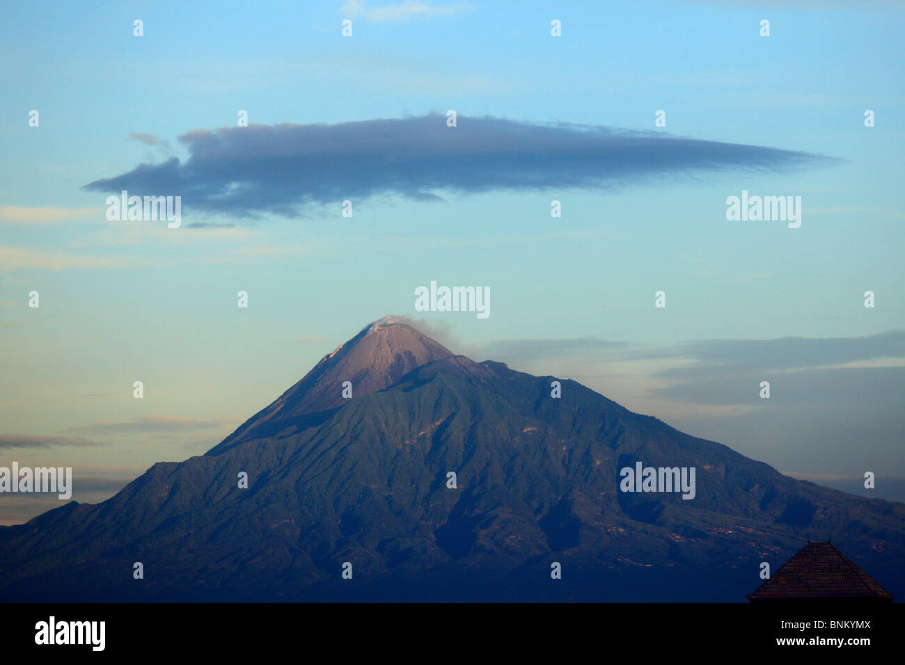 Indonesia, Java, Gunung Merapi volcano; - Stock Image