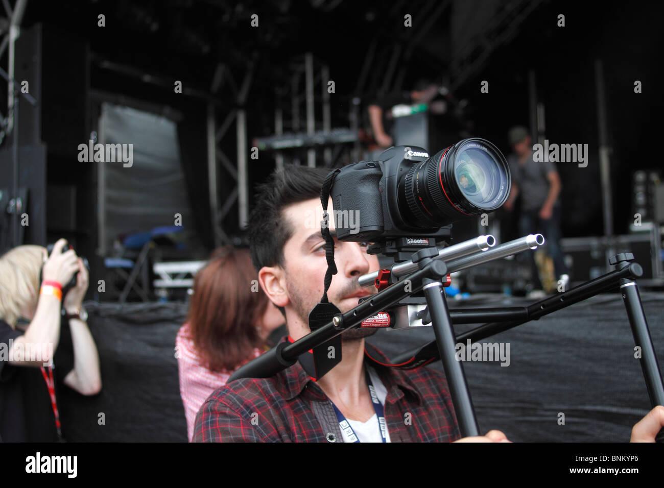 Shooting Camera Canon 5d Stock Photos & Shooting Camera Canon 5d