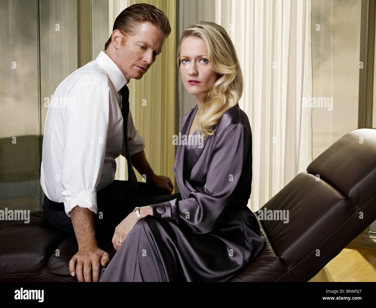 CAPRICA (TV) PAULA MALCOLMSON, ERIC STOLTZ 005 MOVIESTORE COLLECTION LTD - Stock Image
