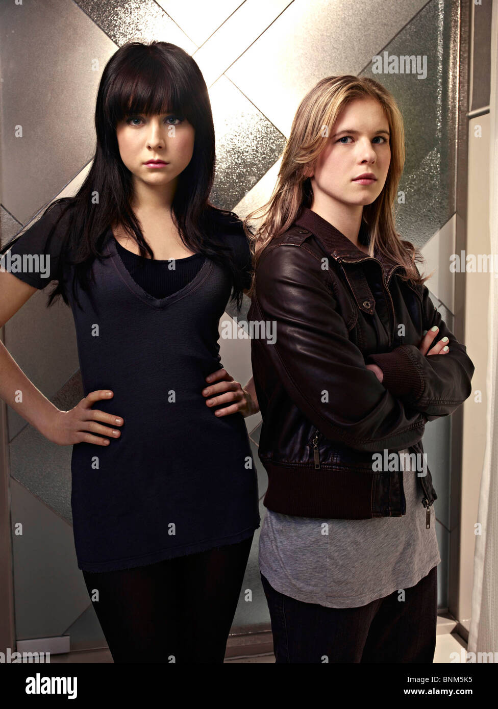CAPRICA (TV) ALESSANDRA TORRESANI, MAGDA APANOWICZ 006 MOVIESTORE COLLECTION LTD - Stock Image