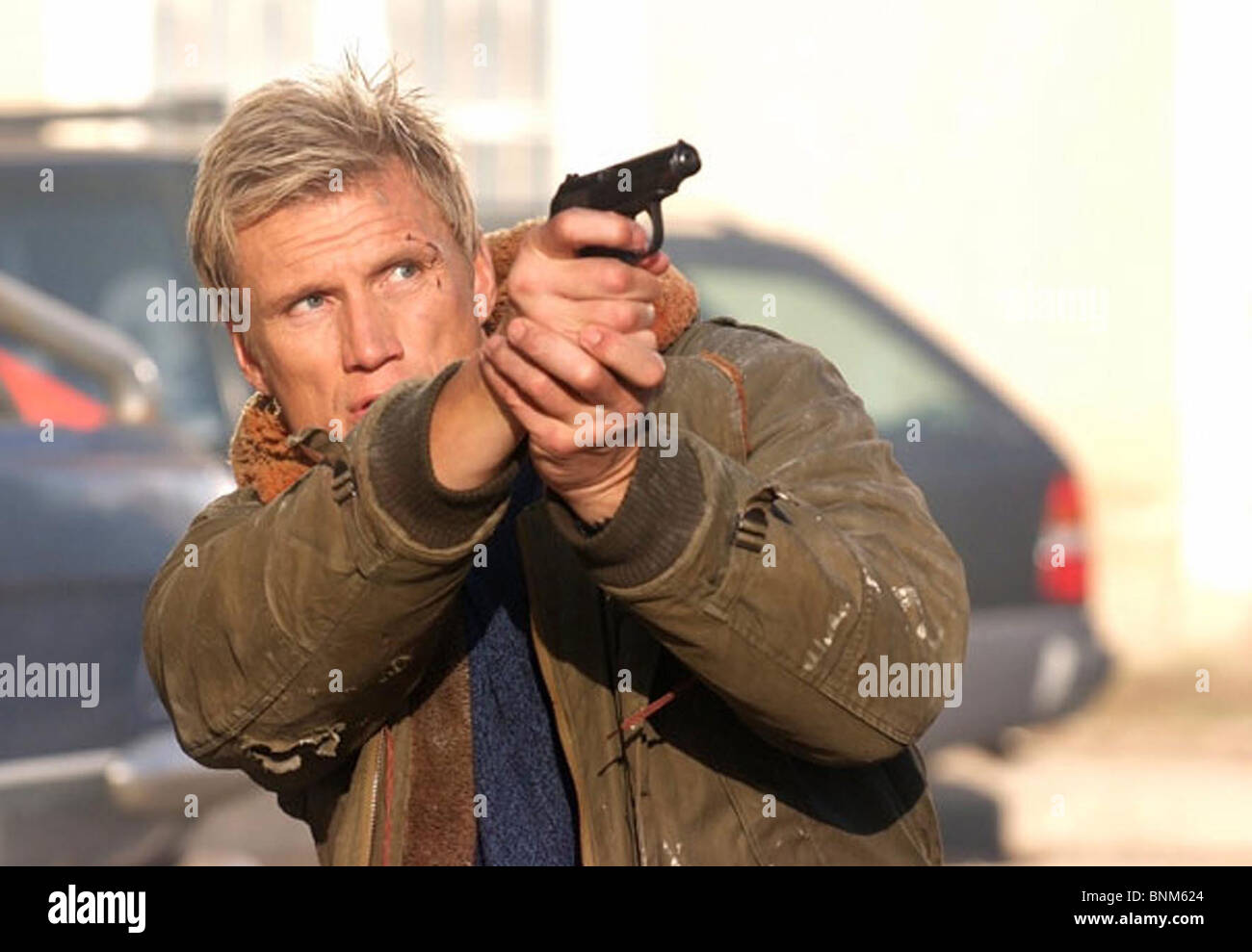 DIRECT CONTACT (2009) DOLPH LUNDGREN DANNY LERNER (DIR) 001 MOVIESTORE COLLECTION LTD - Stock Image