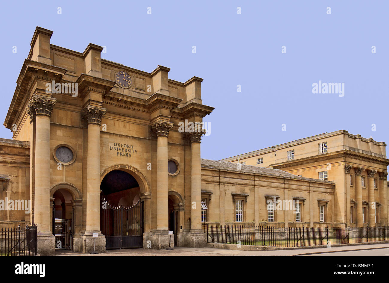UK Oxford University Press Building Stock Photo: 30563177