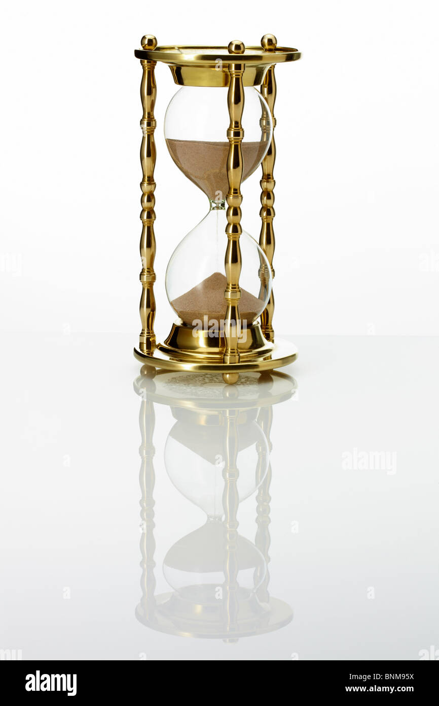 Hour Glass Stock Photo