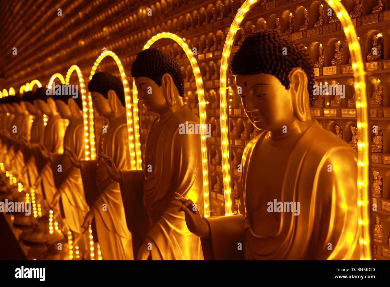 Manbulsa (1000 Buddha Temple), South Korea Stock Photo