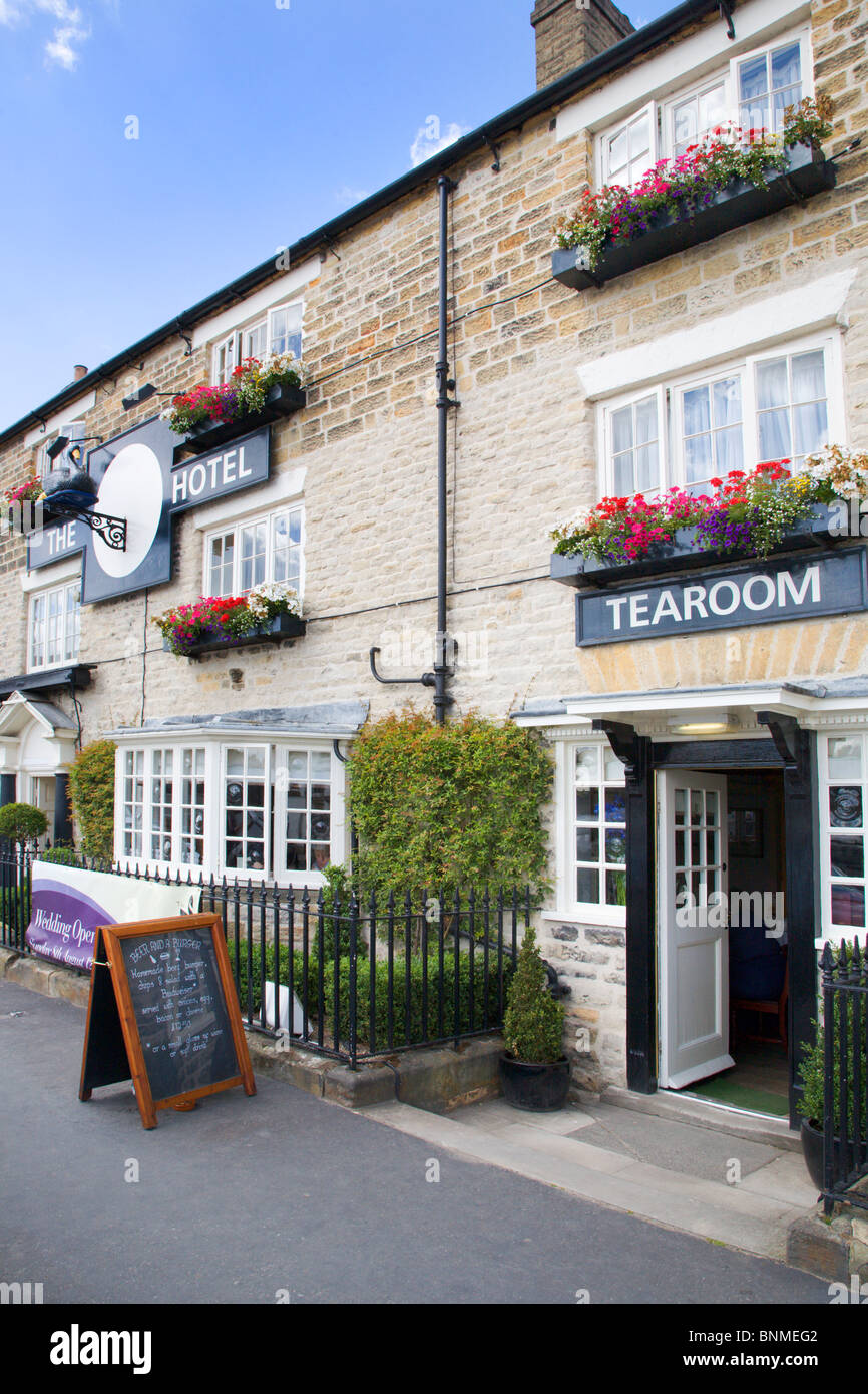The Black Swan Hotel Helmsley North Yorkshire England - Stock Image
