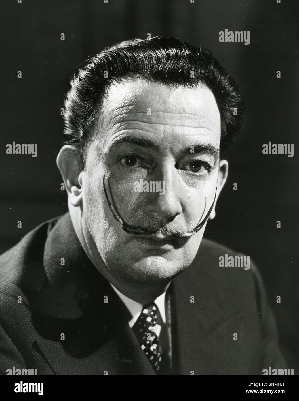 SALVADOR DALI  (1984-89) Spanish artist Stock Photo