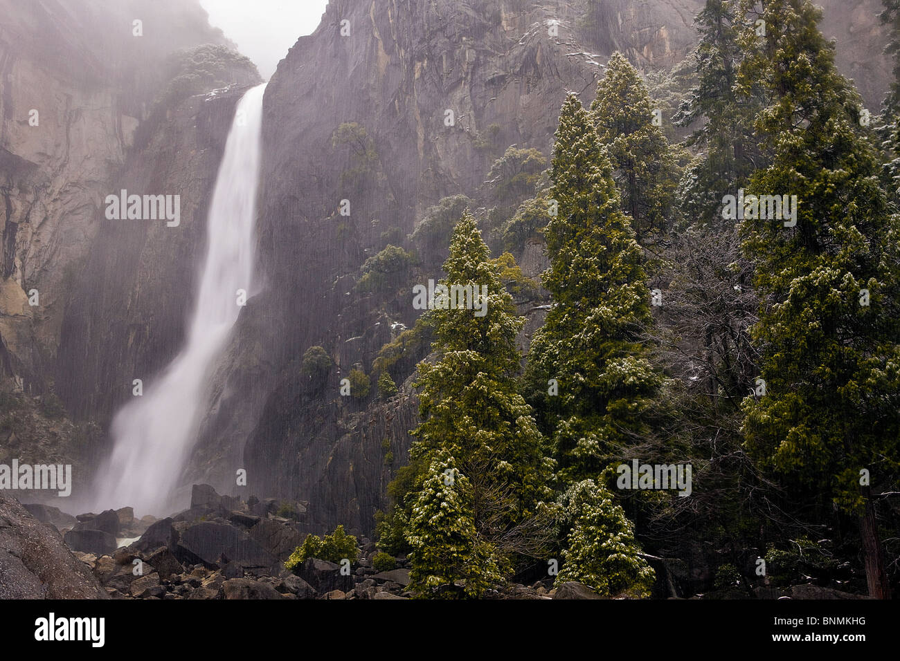 Yosemite National Park, California, USA - Stock Image