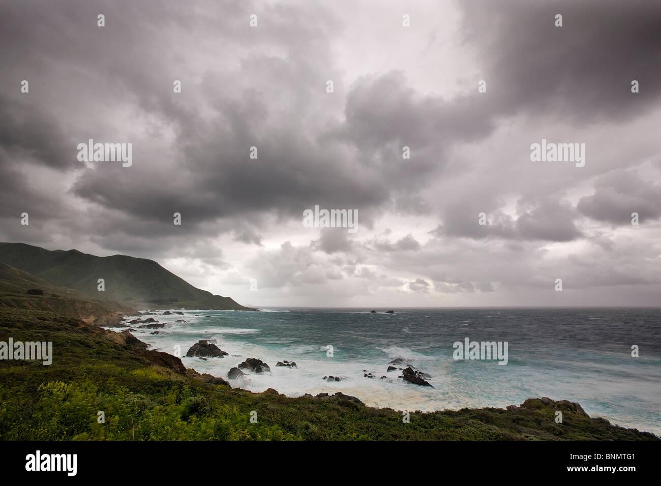 Big Sur coast, California, USA. Stock Photo