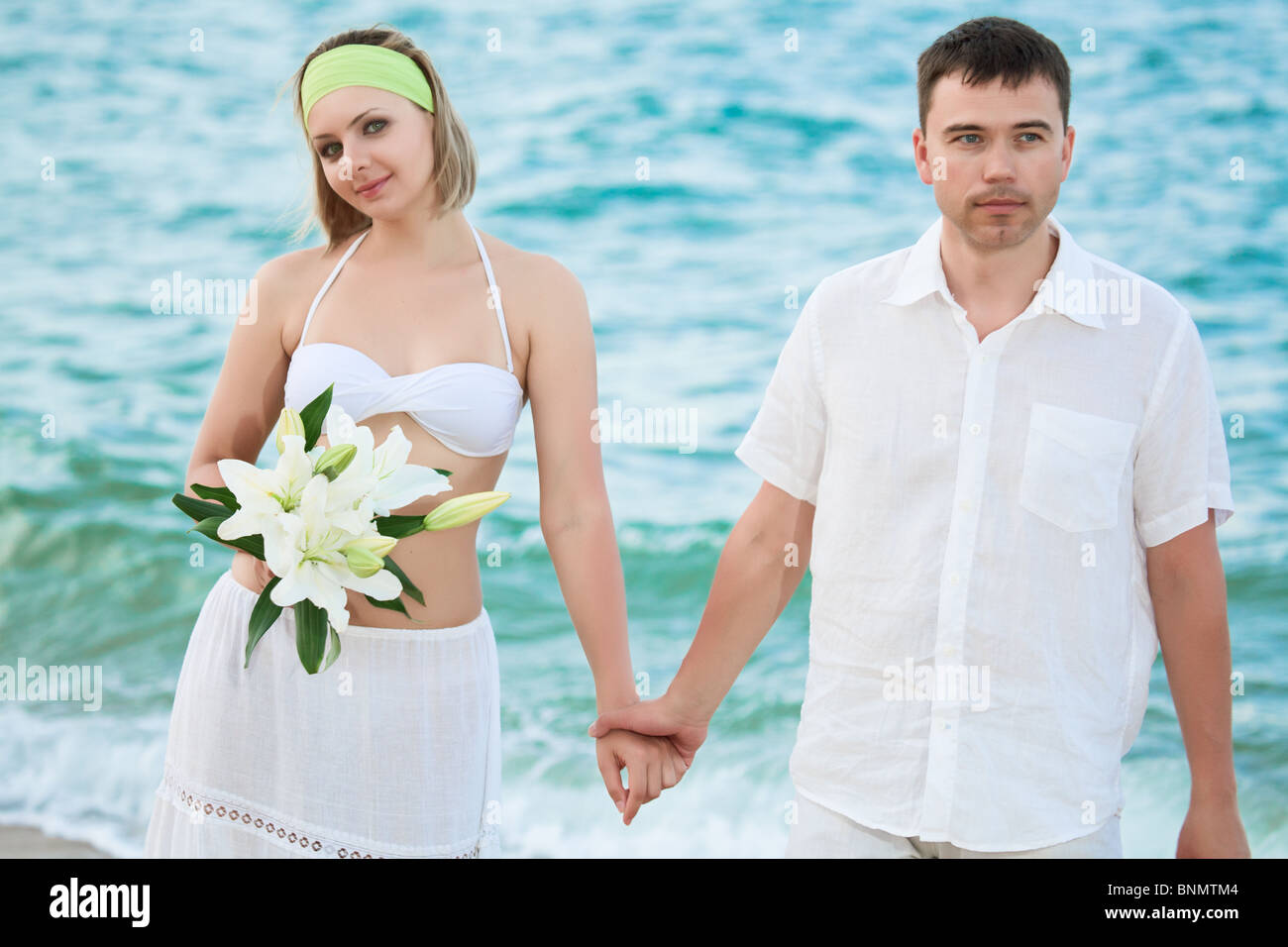 Wedding Couple Miami Beach Florida Stock Photos & Wedding Couple ...