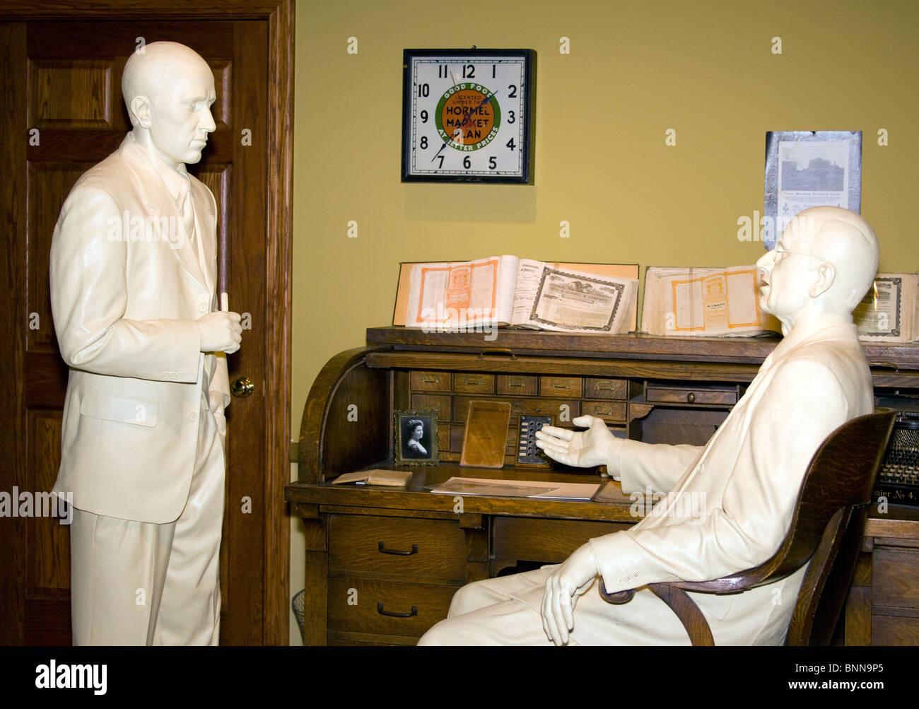 Spam Museum in Austin Minnesota - Stock Image