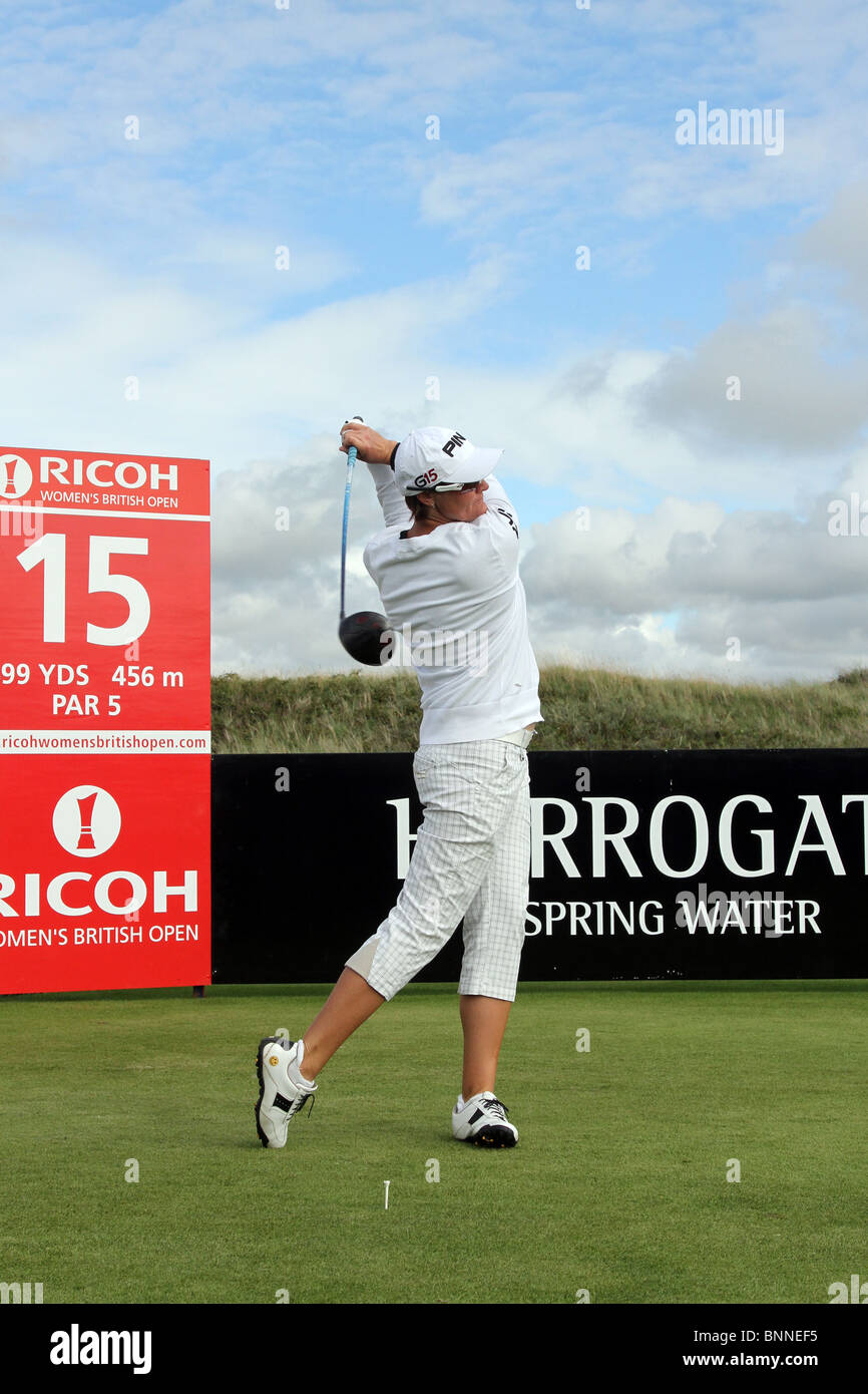 35th Ricoh Women's British Open at The Royal Birkdale Golf Club, Southport, Merseyside, UK - Stock Image