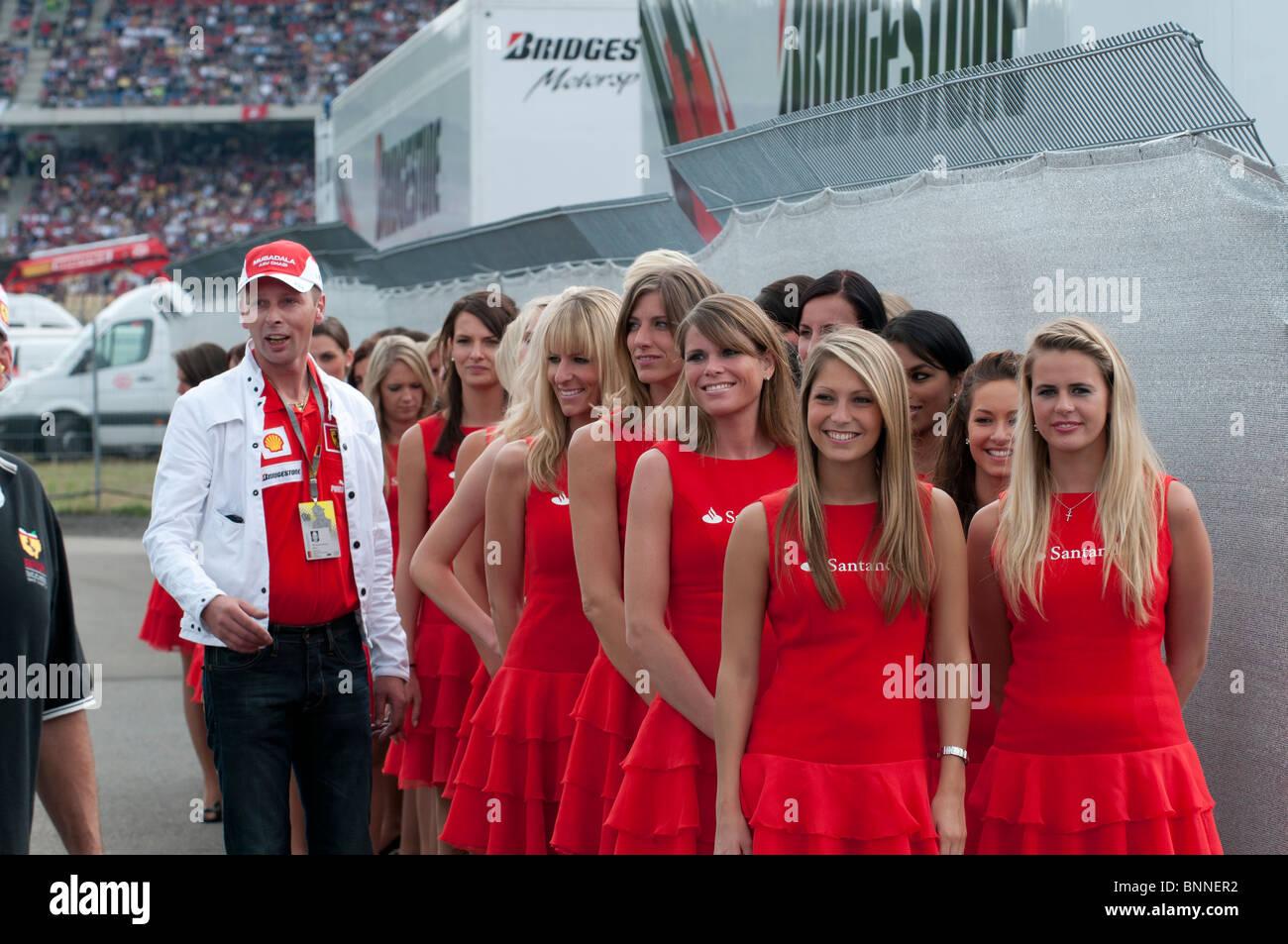 Formula 1, Hockenheimring, Hockenheim, Germany, Europe - Stock Image