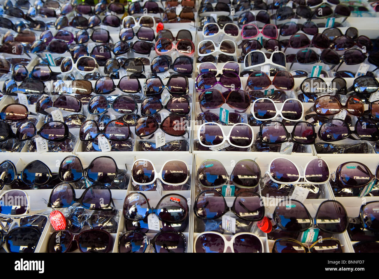 Italy. Tuscany. Colle di val d'Elsa. The weekly market. - Stock Image