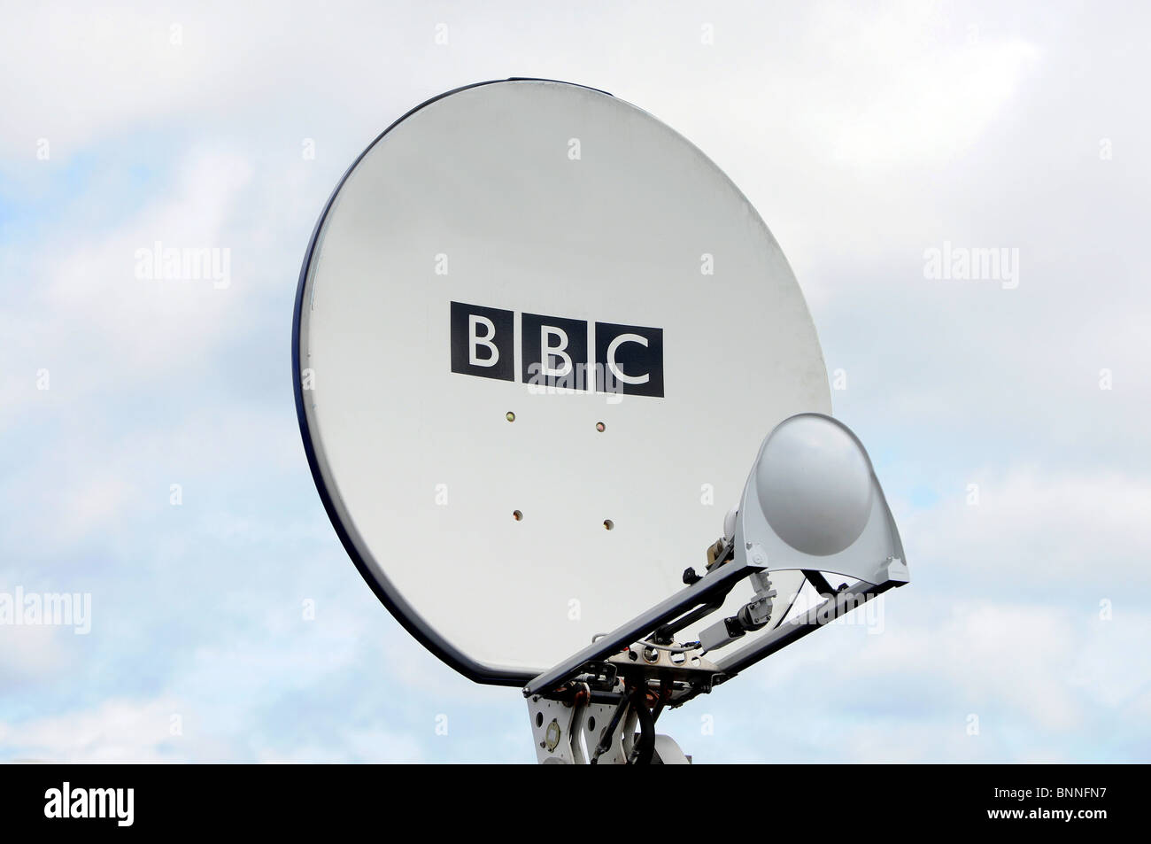 a BBC transmitter for outside broadcasting , england, uk - Stock Image