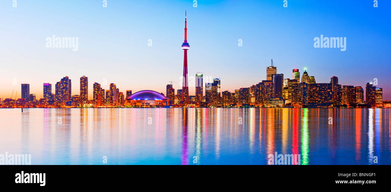 Toronto harbour front, Ontario - Stock Image
