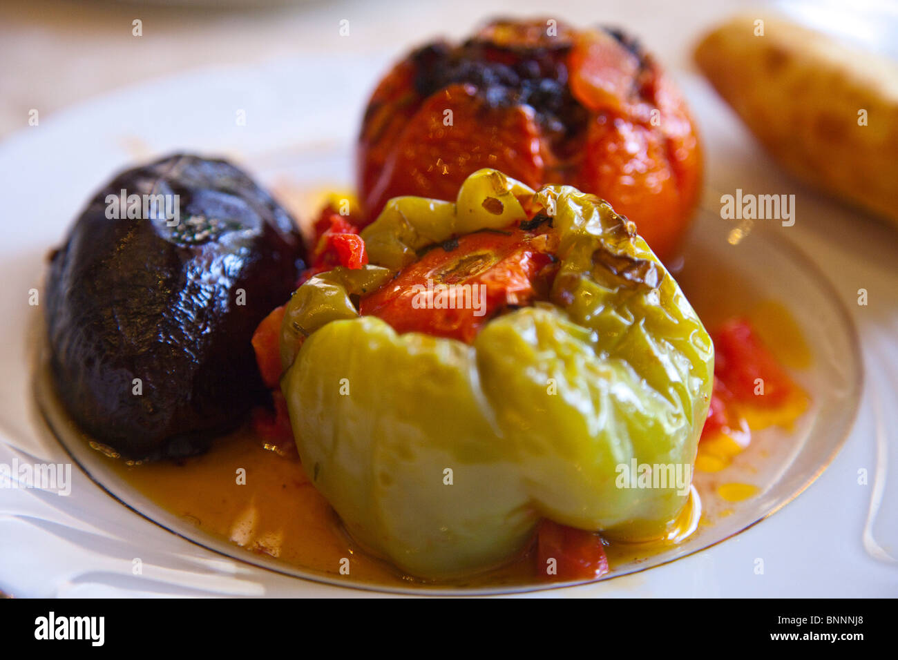 Azeri dolma in Baku, Azerbaijan Stock Photo