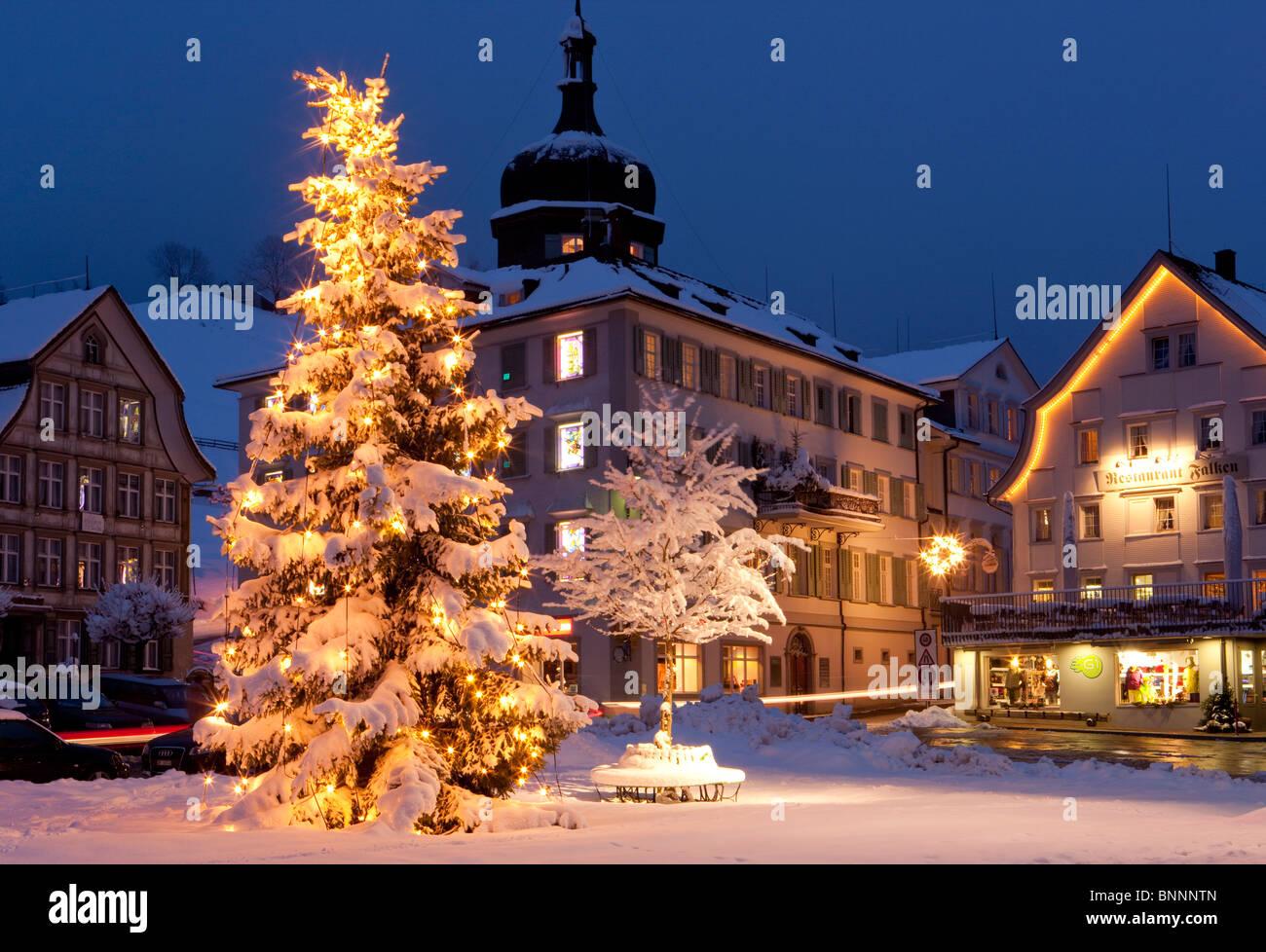 Gais Place Winter Snow Christmas Tree Christmas Tree