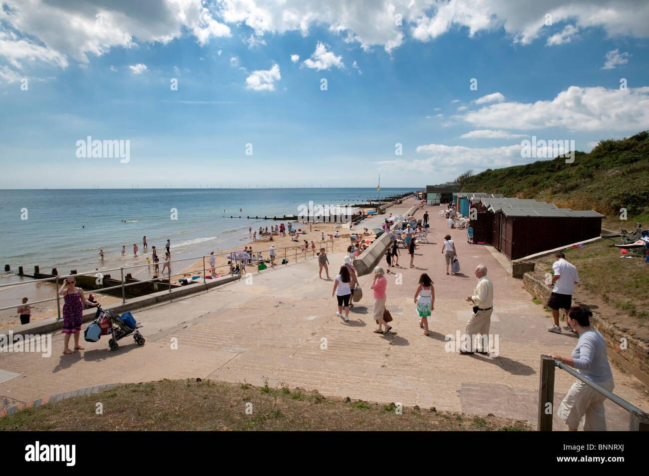 The Esplanade at Frinton-on-Sea, Essex - Stock Image