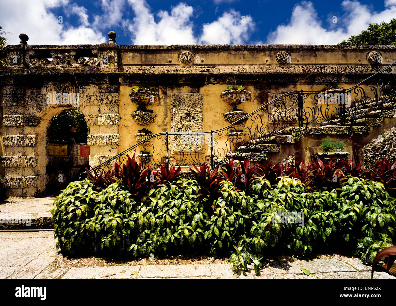 The Secret Garden at Vizcaya Museum and Gardens is the landmark ...