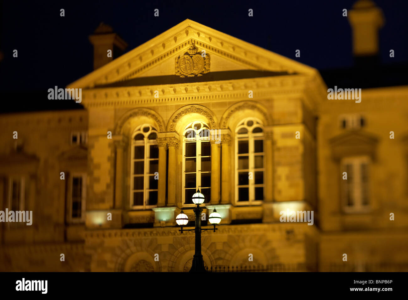 custom house building in Belfast city centre Northern Ireland UK. - Stock Image