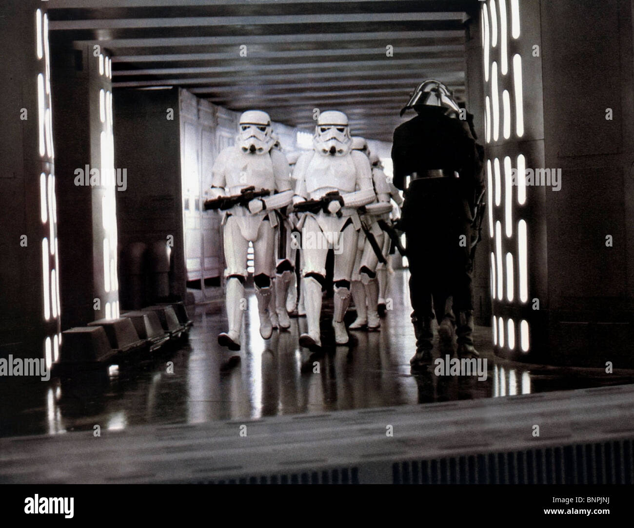 Stormtroopers Star Wars Episode Iv A New Hope 1977 Stock Photo Alamy