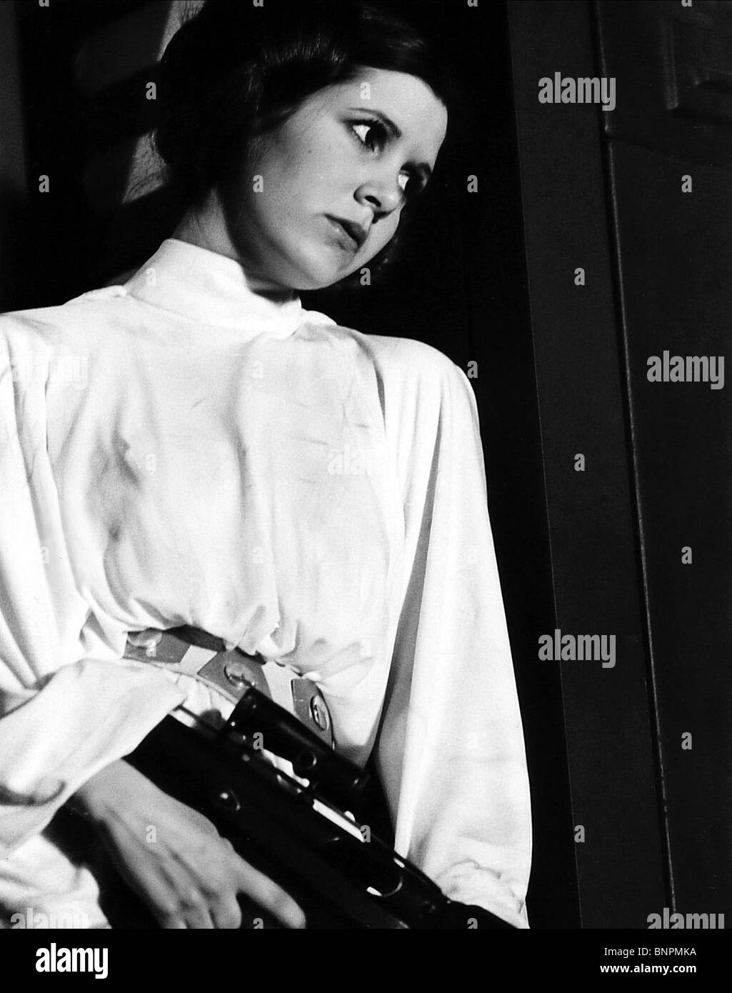 CARRIE FISHER STAR WARS: EPISODE IV - A NEW HOPE (1977) - Stock Image