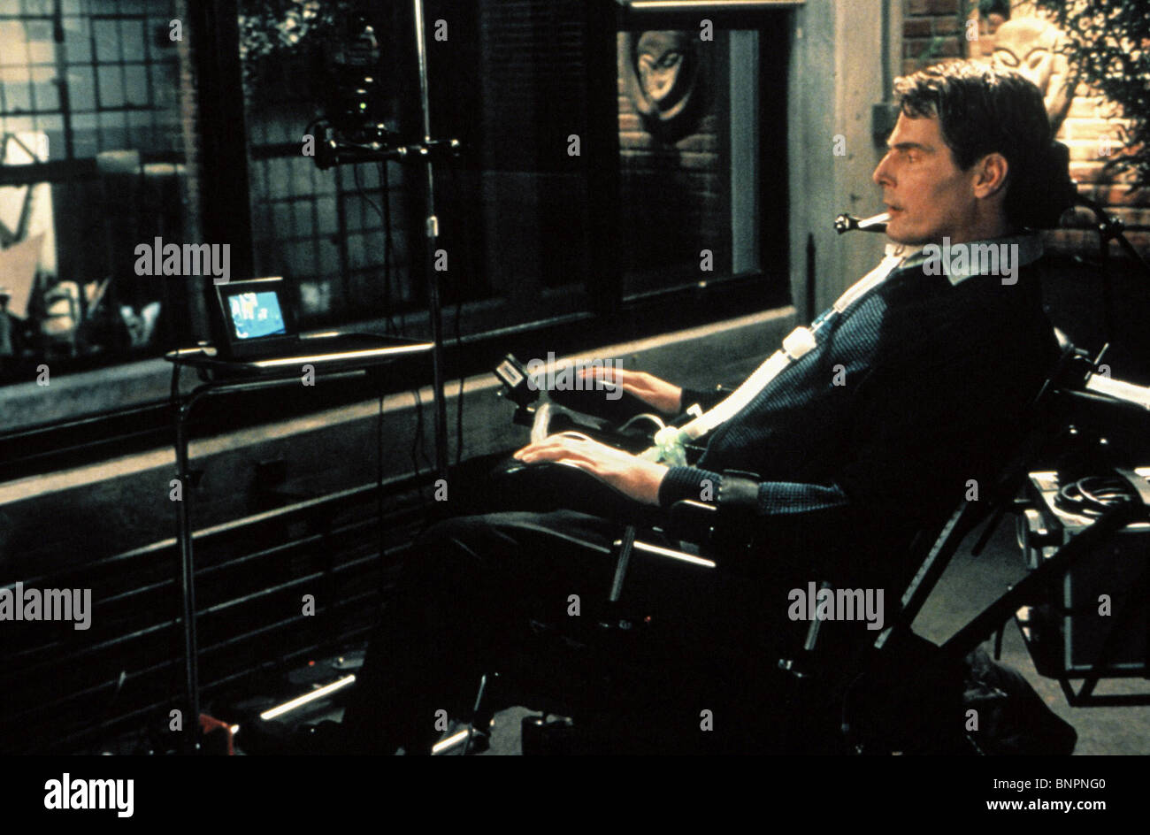 CHRISTOPHER REEVE REAR WINDOW (1998) - Stock Image