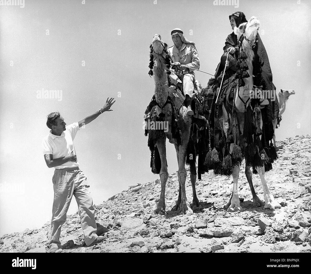 Lawrence Of Arabia David Lean: DAVID LEAN PETER O'TOOLE & OMAR SHARIF LAWRENCE OF ARABIA