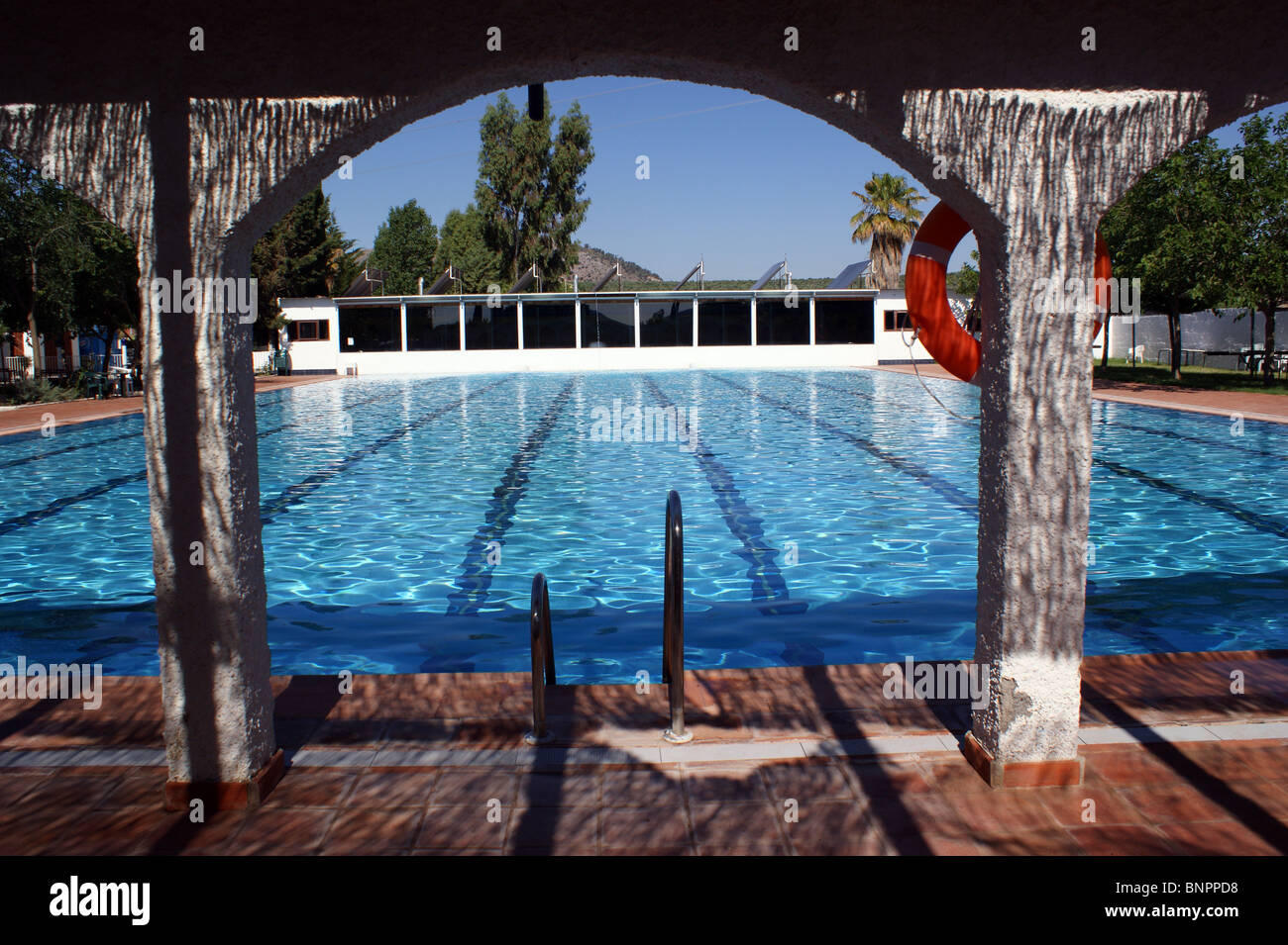 Olympic Swimming Pool Empty Stock Photos Olympic