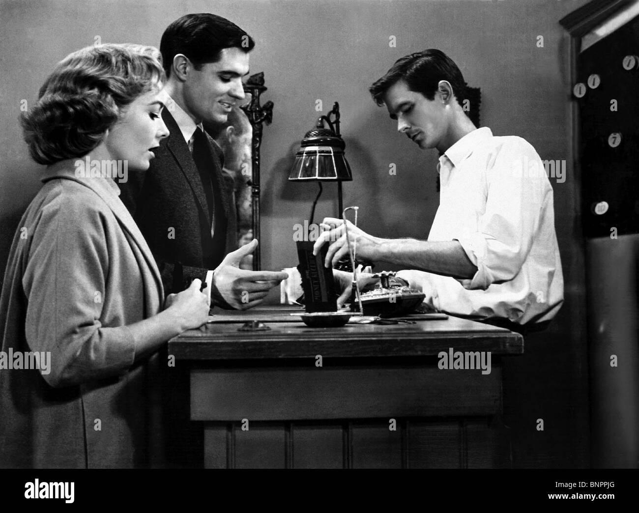 VERA MILLS JOHN GAVIN ANTHONY PERKINS PSYCHO (1960) - Stock Image